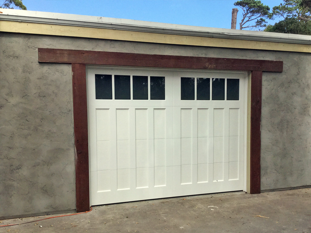 Minor Home Improvement Project – Before and After Pacific Grove Garage