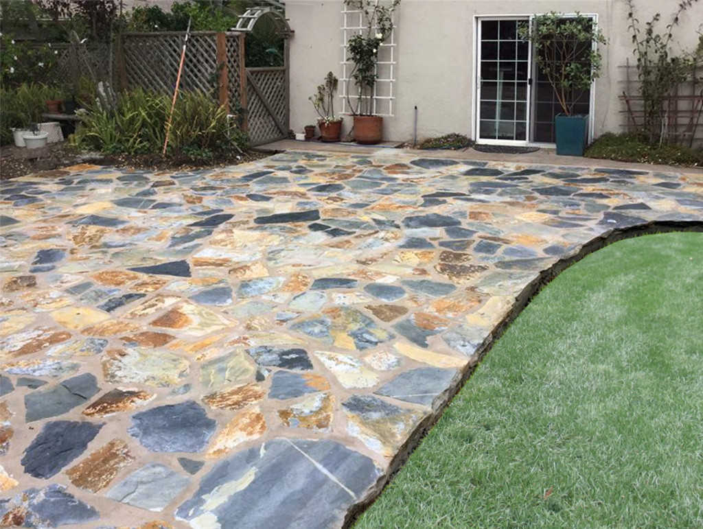 Yosemite Slate Stone Patio