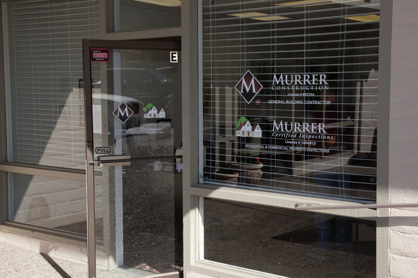 Murrer Construction's New Office